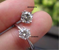 Мойсанит или диамант